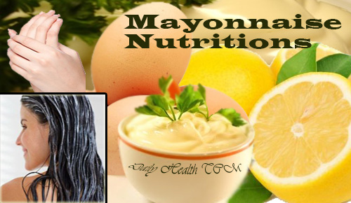 Mayonnaise Nutritions