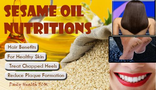 Sesame Oil Nutritions