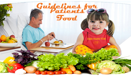 Guiedelines for Patients Food